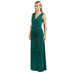 Ariella London - Emerald celina wrap long dress