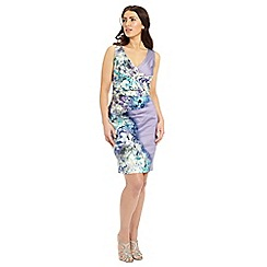 Ariella London - Lavender sally printed pencil dress