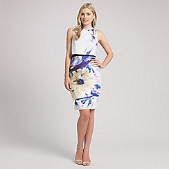 Ariella London - Blue louise print short dress