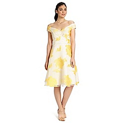 Ariella London - Yellow nova prom short dress