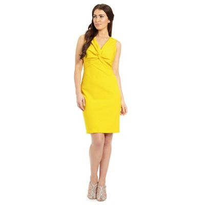 Ariella London Alba bodycon v-neck dress - . -