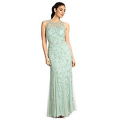 Ariella London - Sage karla sequin & beaded evening gown