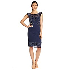 Ariella London - Navy betsy short sequin dress