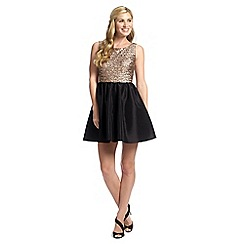 Ariella London - Black sequined 'Leonie' prom dress