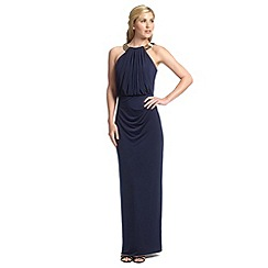 Ariella London - Navy kenzie evening gown