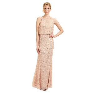 Ariella London Rose sequined 'Monroe' evening dress
