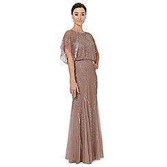 Ariella London - Pale pink embellished 'Steffy' evening dress