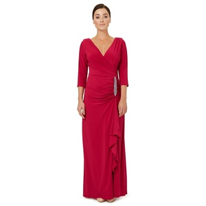 Ariella London Dark pink jersey 'Gomez' evening dress