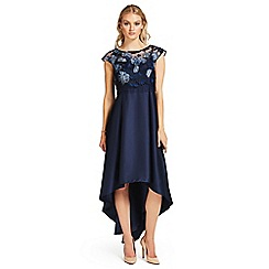 Ariella London - Navy 'Graziella' high low dress