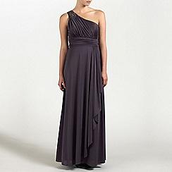 Ariella London - Grape Olivia Jersey Long Dress