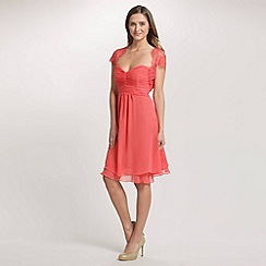 Ariella London - Coral Nila Lace and Sequin Bolero