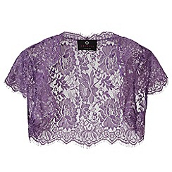 Ariella London - Lavender Nila Lace and Sequin Bolero