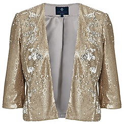 Ariella London - Gold Jackie Sequin Jacket