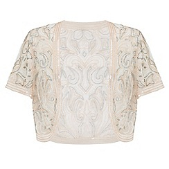 Ariella London - Dusky pink clara sheer bolero