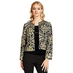 Ariella London - Gold 'Edie' embroided jacket