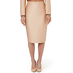 Ariella London - Pale pink 'Cally' pencil skirt