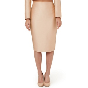 Ariella London Pale pink 'Cally' pencil skirt