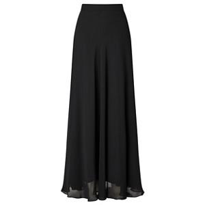 Ariella London Black 'Danny' chiffon maxi skirt