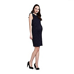 Rock-a-Bye Rosie - Navy all over soft lace dress