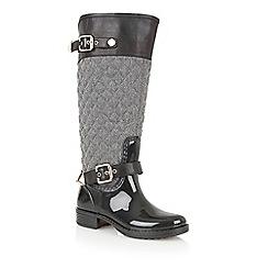 Lotus - Grey posh wellies 'peacon' boots