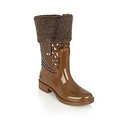Lotus - Bronze posh wellies 'colemanite' boots
