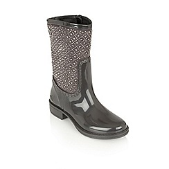 Lotus - Graphite posh wellies 'cerrucite' boots