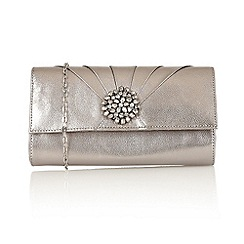 Lotus - Pewter 'Cristaler' handbags