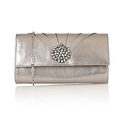 Lotus - Pewter 'Cristaler' handbags