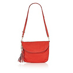Lotus - Red leather 'Salsan' handbag
