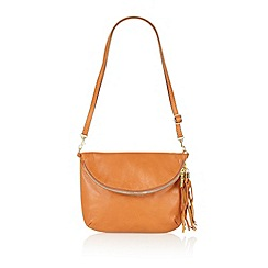 Lotus - Tan leather 'Salsan' handbag