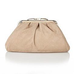 Lotus - Beige suede 'Halle' handbags