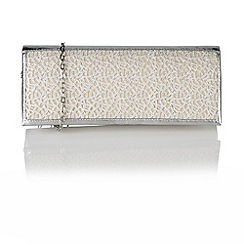 Lotus - Silver mesh 'Elektra' handbags