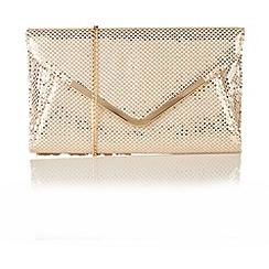 Lotus - Beige sequins 'Catori' handbags