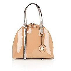 Lotus - Nude 'Madox' tote handbags