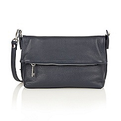 Lotus - Dark navy 'Arys' satchel bags
