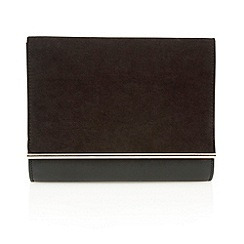 Lotus - Black microfibre 'Miss' clutch bags