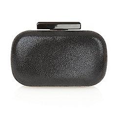 Lotus - Black print 'Laelia' clutch bags