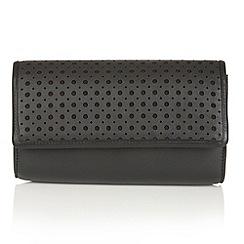 Lotus - Black leather 'Cellini' matching bag