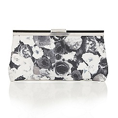 Lotus - Black floral 'Mable' matching bag