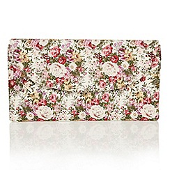 Lotus - Pink multi floral 'Jayla' matching bag