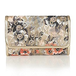 Lotus - Beige multi 'Duval' matching bag
