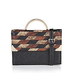 Lotus - Brown 'Kadali' matching bag