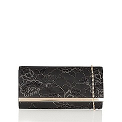 Lotus - Black 'Tika' matching clutch bag