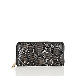Lotus - Black 'Ayanna' clutch bag