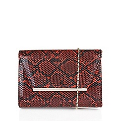 Lotus - Red 'Lodis' matching handbag