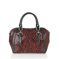 Lotus - Red 'Anfisa' tote bag