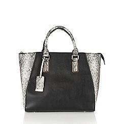 Lotus - Grey 'Dianella' tote bag