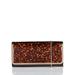 Lotus - Brown 'Camelia' matching clutch bag