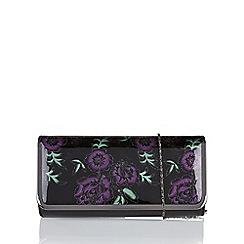 Lotus - Purple 'Flower' matching clutch bag