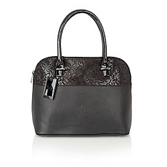Lotus - Black 'Arvida' tote bag